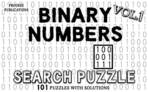 Binary Numbers Search Puzzle : PbooksE Publications