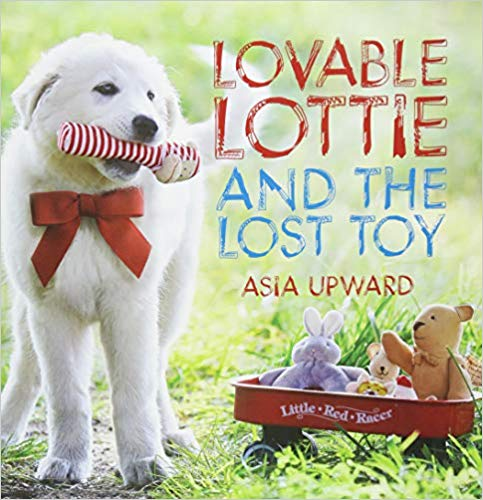 New Children's Book Lovable Lottie and The Lost Toy by Asia Upward