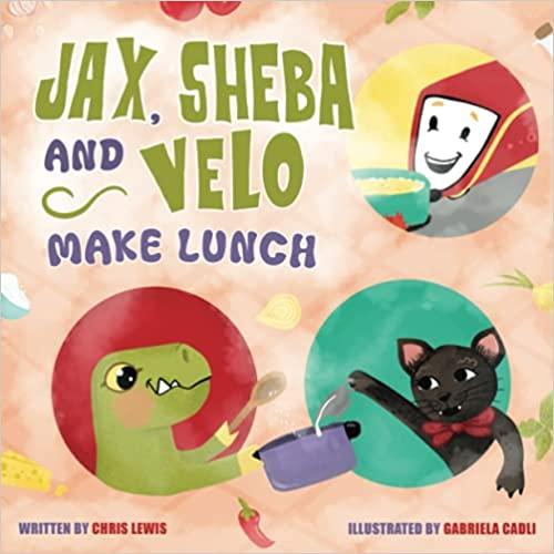 Jax, Sheba and Velo Make Lunch : Chris Lewis